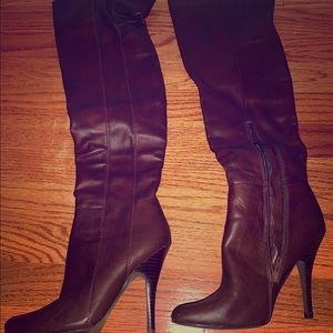 Gorgeous tall leather boots
